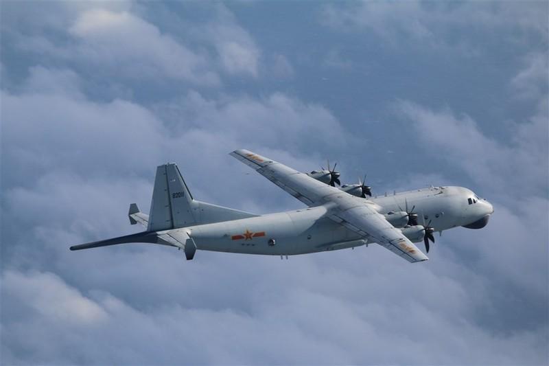 Máy bay chống ngầm Trung Quốc lại xâm nhập ADIZ của Đài Loan - ảnh 1