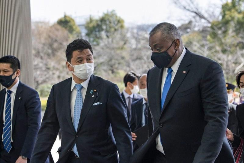 Mỹ, Nhật nhất trí hợp tác trong tình huống khẩn cấp ở Đài Loan - ảnh 1