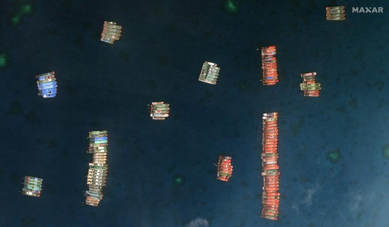 Hàng loạt nước Âu, Á phản đối vụ hàng trăm tàu TQ ở Đá Ba Đầu - ảnh 1