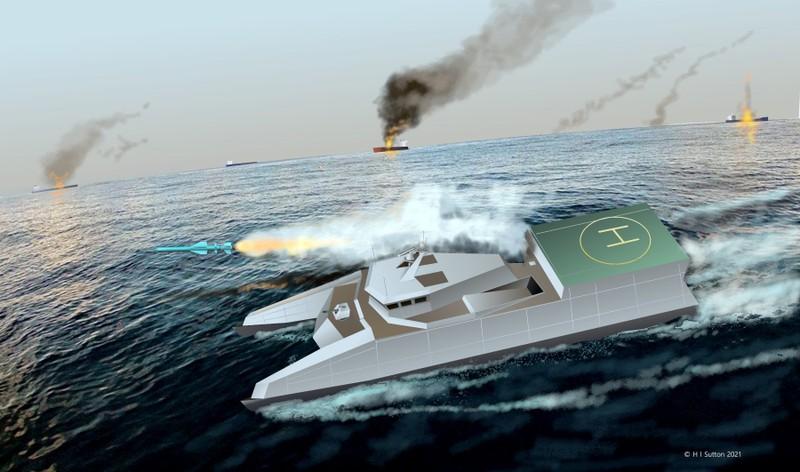 Lớp tàu chiến mới sẽ định hình lại học thuyết hải quân Iran? - ảnh 2
