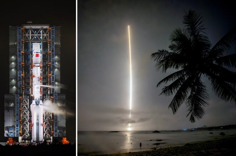 Âm mưu của Trung Quốc khi phóng 4 vệ tinh trên Biển Đông - ảnh 1