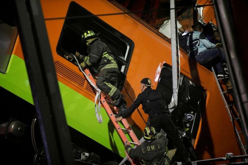 Mexico: Sập cầu metro, 15 người chết 70 người bị thương - ảnh 2