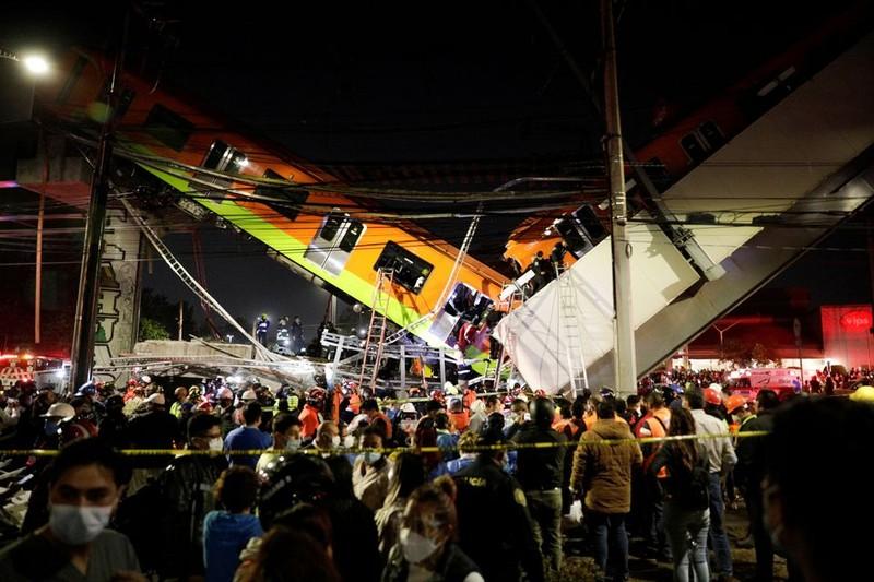 Mexico: Sập cầu metro, 15 người chết 70 người bị thương - ảnh 1