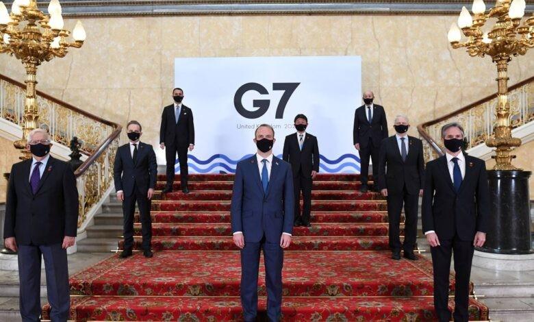 G7 cảnh báo rắn Nga, Trung Quốc về Ukraine và Đài Loan - ảnh 1