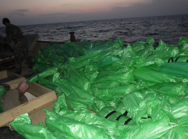 Vũ khí do Nga, Trung Quốc chế tạo bị Mỹ thu giữ ở biển Ả Rập - ảnh 3