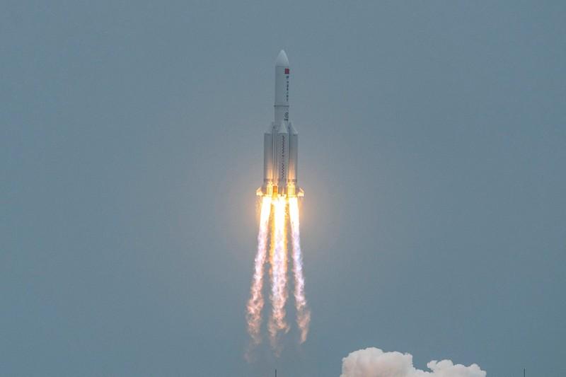 Mảnh vỡ tên lửa Trung Quốc sẽ rơi xuống Trái đất trong hôm nay - ảnh 3