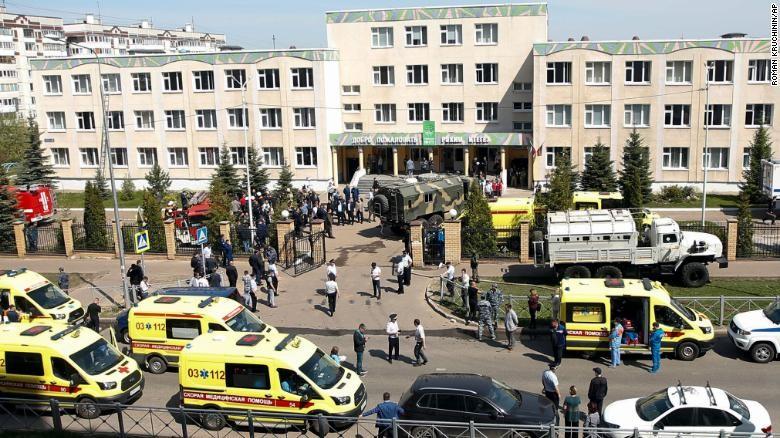 Nga: Thanh niên 19 tuổi xông vào trường học bắn chết 7 trẻ em  - ảnh 2