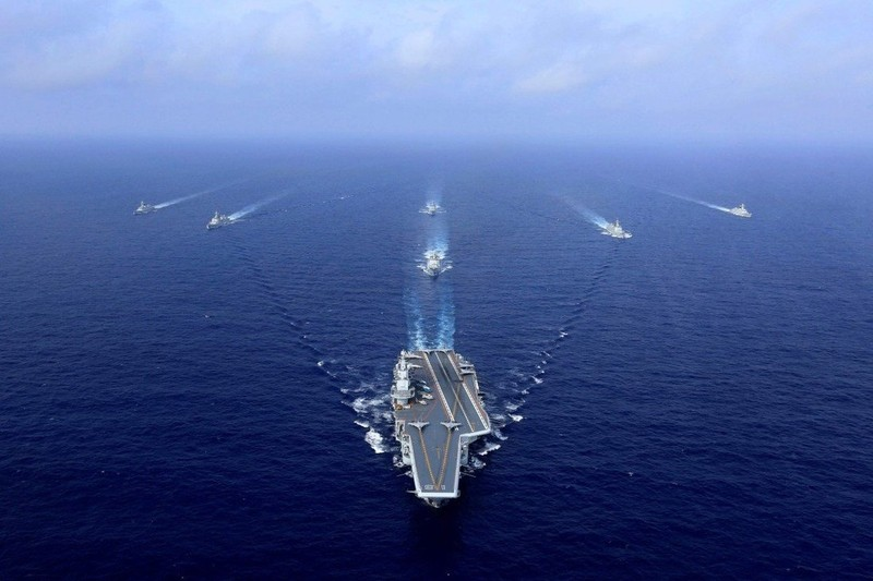 Trung Quốc có thể cạnh tranh với Mỹ về tàu sân bay? - ảnh 1