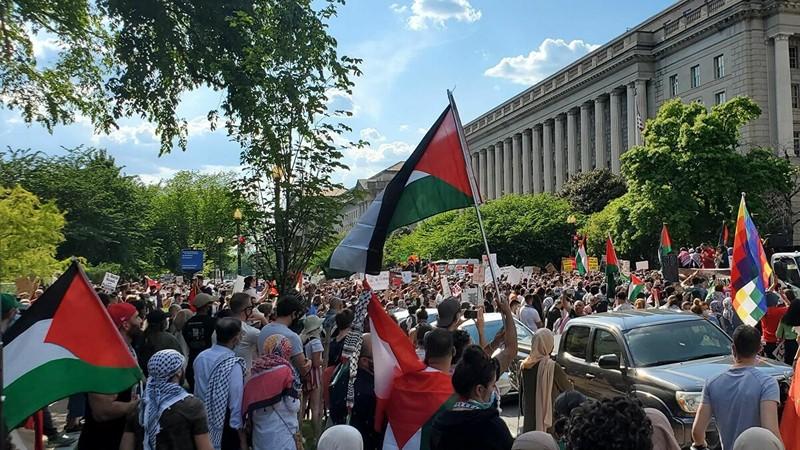Video: Biểu tình phản đối Israel tại 65 thành phố ở Mỹ - ảnh 2