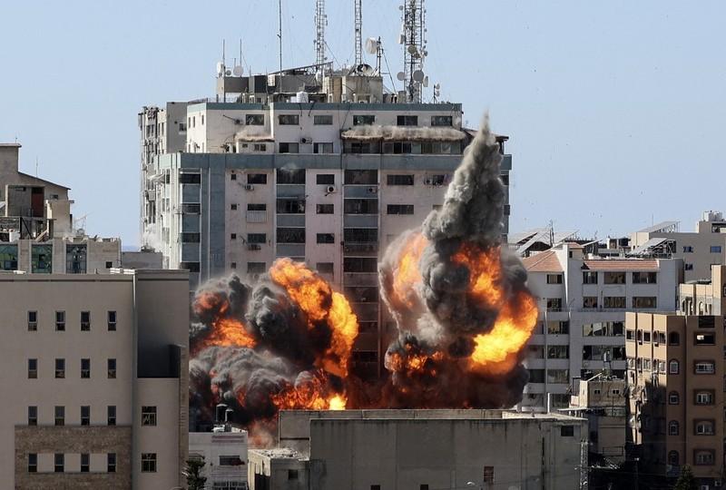 Israel tuyên bố đã phá hủy nhà thủ lĩnh Hamas tại Dải Gaza - ảnh 2