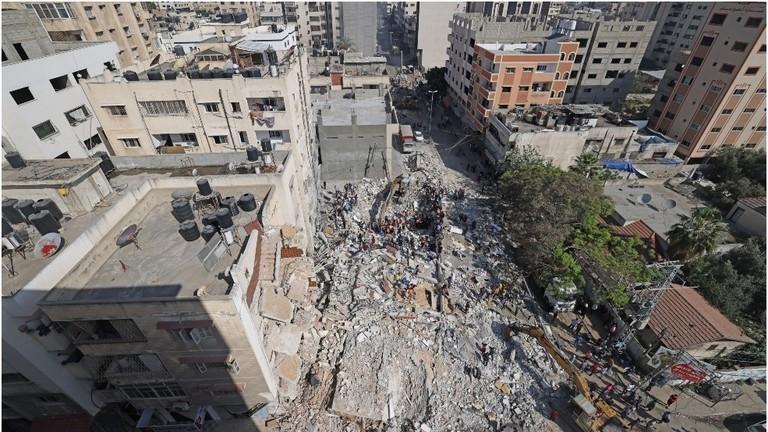 Israel tuyên bố đã phá hủy nhà thủ lĩnh Hamas tại Dải Gaza - ảnh 1