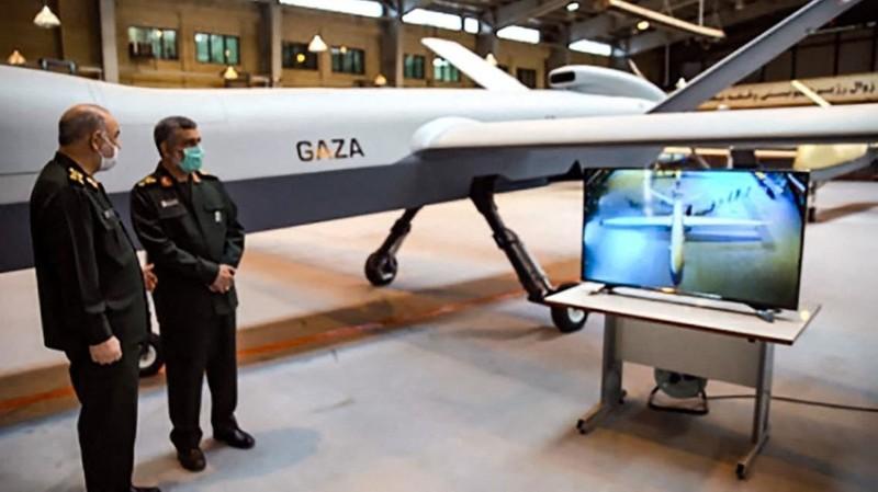 Iran ra mắt máy bay không người lái mới mang tên 'Gaza' - ảnh 1