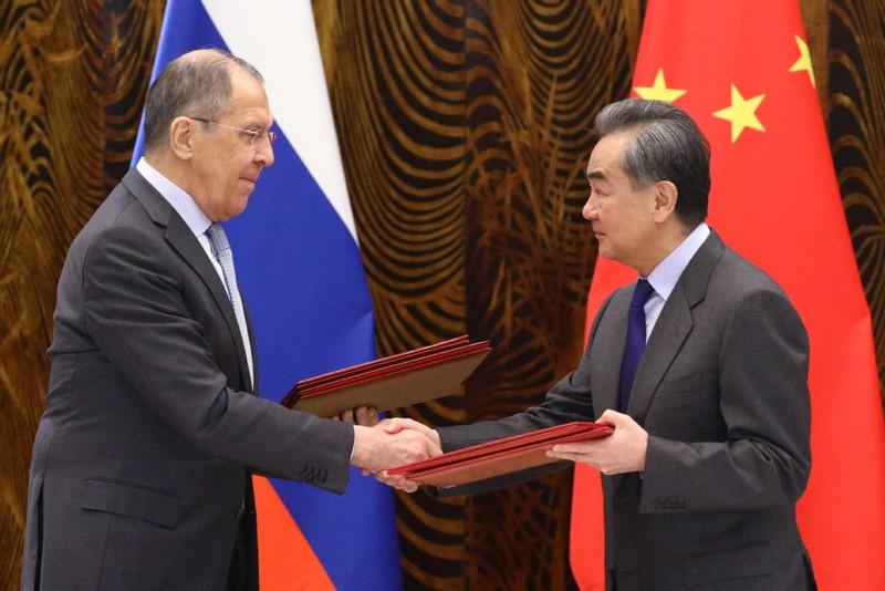 Nga, Trung Quốc cam kết ủng hộ nhau trong bảo vệ lợi ích cốt lõi - ảnh 1