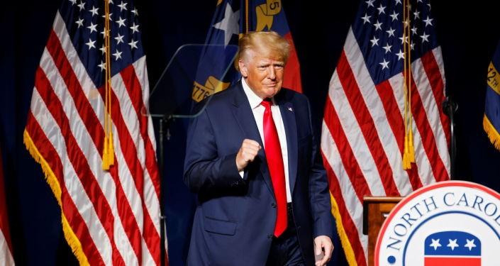Ông Trump nói nước Mỹ đang bị 'hạ thấp' dưới thời ông Biden - ảnh 2