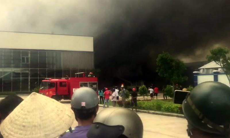 Cháy Công ty May Nhà Bè tại Sóc Trăng  - ảnh 1
