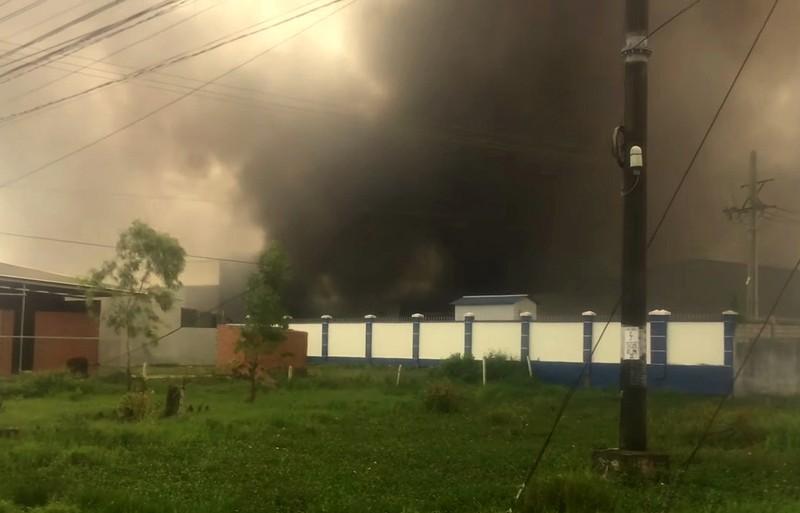 Cháy Công ty May Nhà Bè tại Sóc Trăng  - ảnh 2