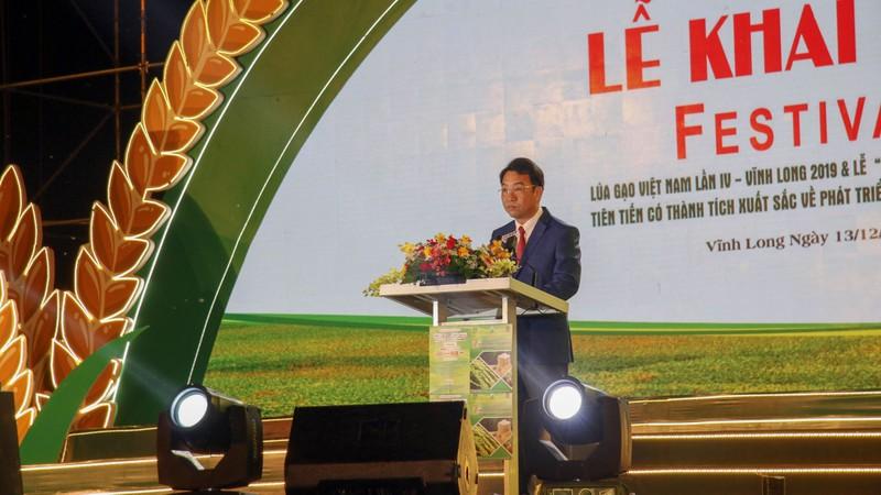 Khai mạc Festival lúa gạo Việt Nam - ảnh 1