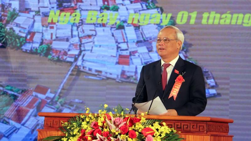 Phó Chủ tịch Quốc hội trao nghị quyết thành lập TP Ngã Bảy - ảnh 2