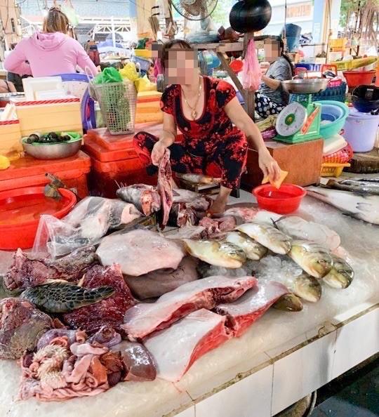 Kiên Giang: Ngang nhiên bán động vật quý hiếm giữa chợ - ảnh 1