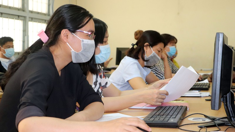 Cần Thơ: Học sinh ôn bài qua mạng, phòng virus Corona - ảnh 2