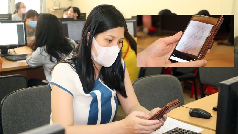 Cần Thơ: Học sinh ôn bài qua mạng, phòng virus Corona - ảnh 3