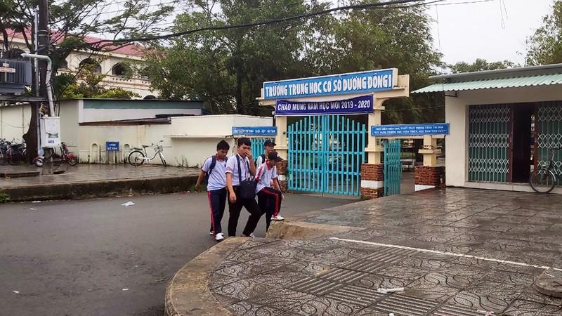Sở GD Kiên Giang nói lại việc học sinh Phú Quốc được nghỉ học - ảnh 1