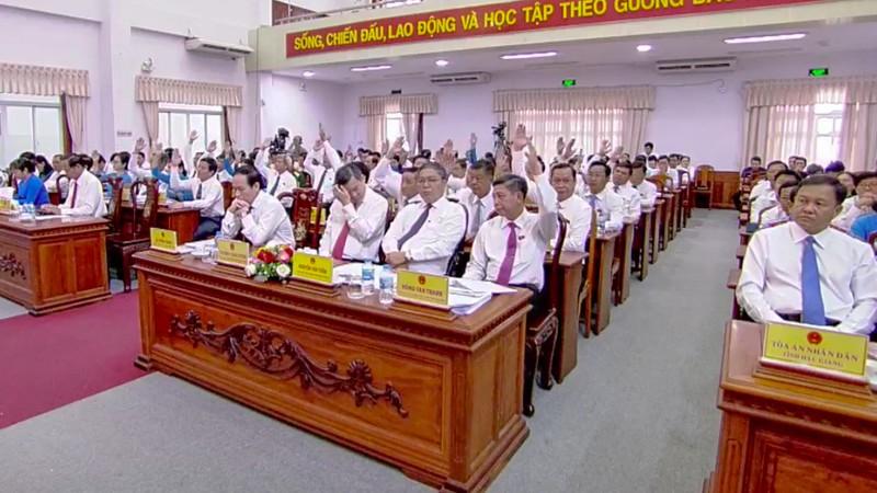 GĐ Sở GTVT tỉnh Hậu Giang xin thôi đại biểu HĐND - ảnh 1