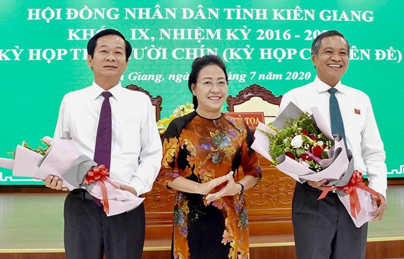 Nhân sự lãnh đạo mới ở Kiên Giang  - ảnh 1