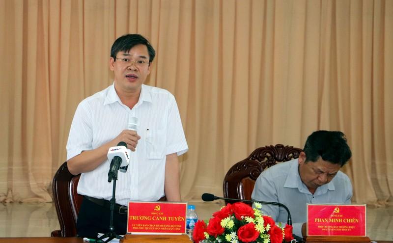 Hậu Giang: Nguyên Chánh Thanh tra làm Phó Ban Tổ chức Tỉnh ủy - ảnh 1