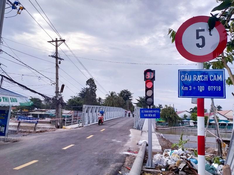 Cần Thơ: Khánh thành cầu Rạch Cam nối liền đường tỉnh 918 - ảnh 1