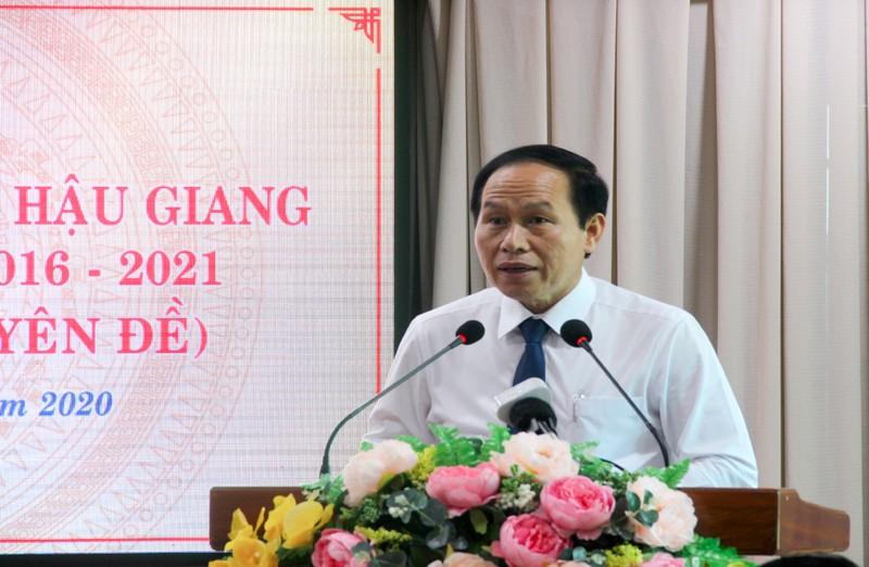 Ông Lữ Văn Hùng thôi làm đại biểu HĐND tỉnh Hậu Giang - ảnh 2