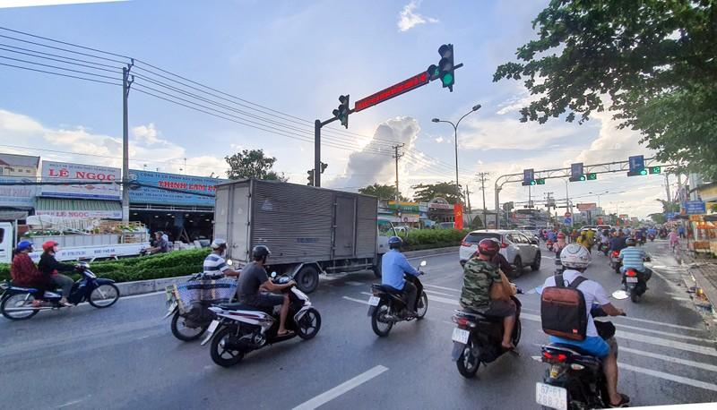 Cần Thơ: Bố trí lại 1 nút giao thông để tránh ùn tắc - ảnh 1