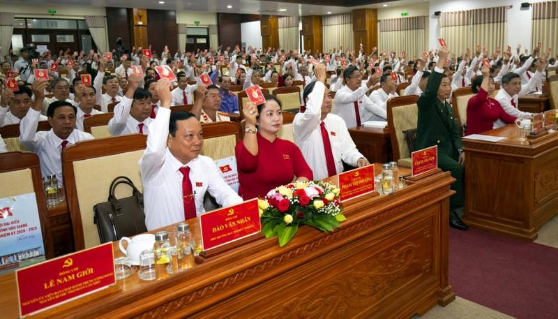 Đại hội Đảng bộ tỉnh Hậu Giang tiến hành phiên trù bị - ảnh 1