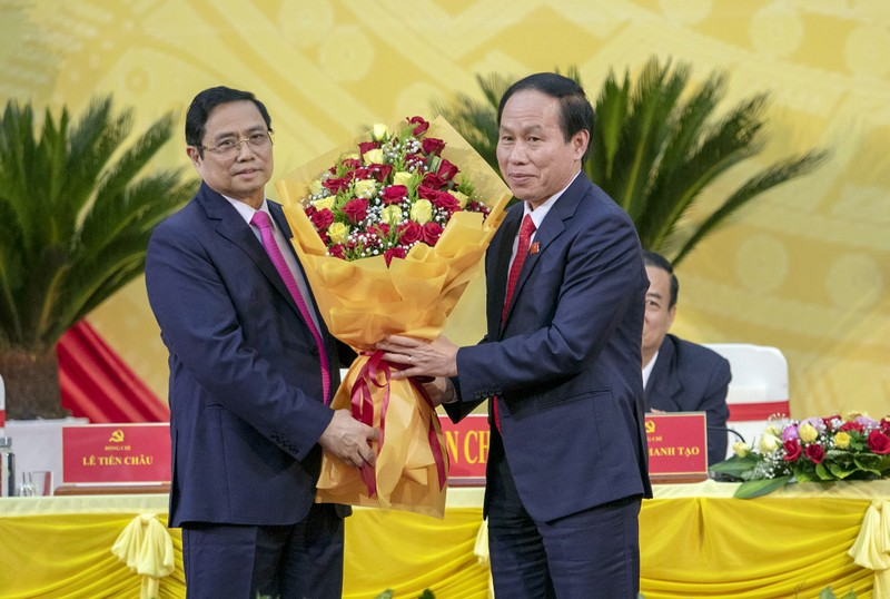 Ông Phạm Minh Chính phát biểu chỉ đạo tại ĐH Đảng bộ Hậu Giang - ảnh 2