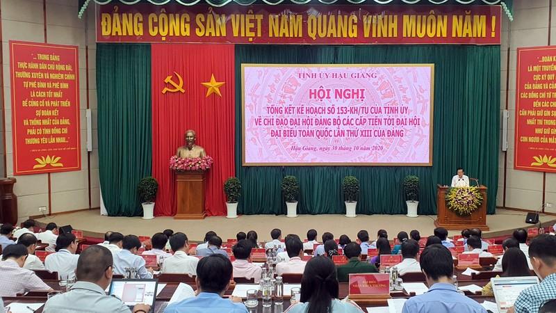 Bộ Chính trị chuẩn y kết quả Đại hội Đảng bộ tỉnh Hậu Giang - ảnh 2