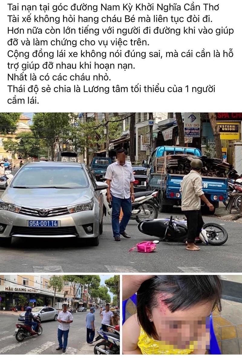 Vụ xe biển xanh gây tai nạn ở Cần Thơ: Sẽ xử nghiêm - ảnh 2