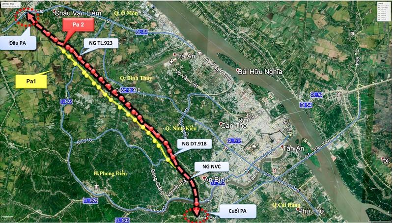 Cần Thơ: Chưa thống nhất xây cầu vượt để giải quyết ùn tắc - ảnh 1