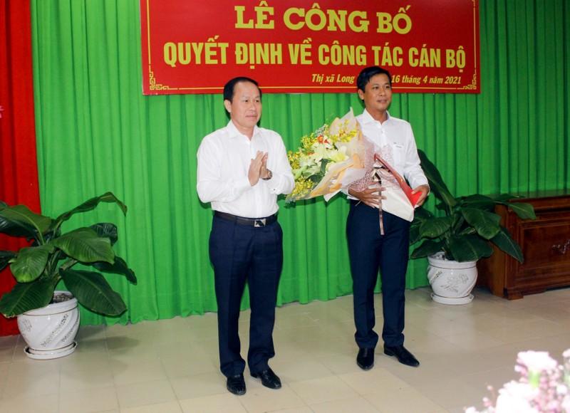 Hậu Giang: Phó Chủ nhiệm UBKT làm Bí thư Thị ủy Long Mỹ - ảnh 1