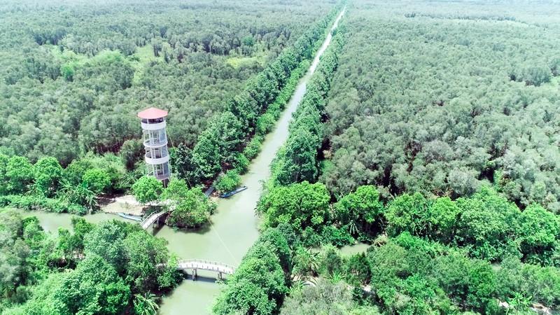 Hậu Giang xây dựng 4 tuyến du lịch nội khu Lung Ngọc Hoàng - ảnh 1