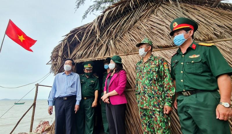 Phó Chủ tịch nước làm việc với Kiên Giang về phòng, chống dịch tuyến biên giới - ảnh 1