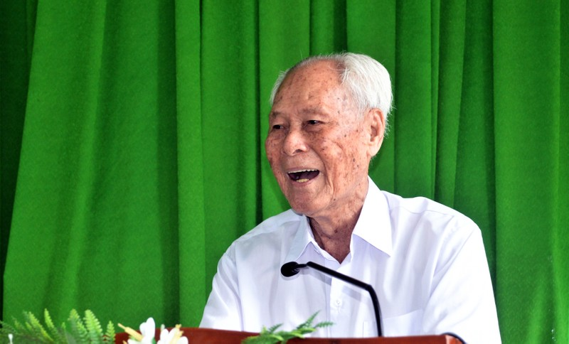 Chủ tịch nước gửi thư khen cụ ông 98 tuổi ở Sóc Trăng  - ảnh 2