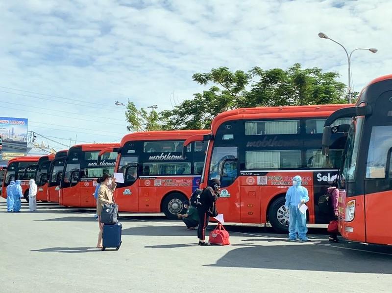 Hướng dẫn người dân tỉnh Hậu Giang đang ở TP.HCM đăng ký về quê - ảnh 1