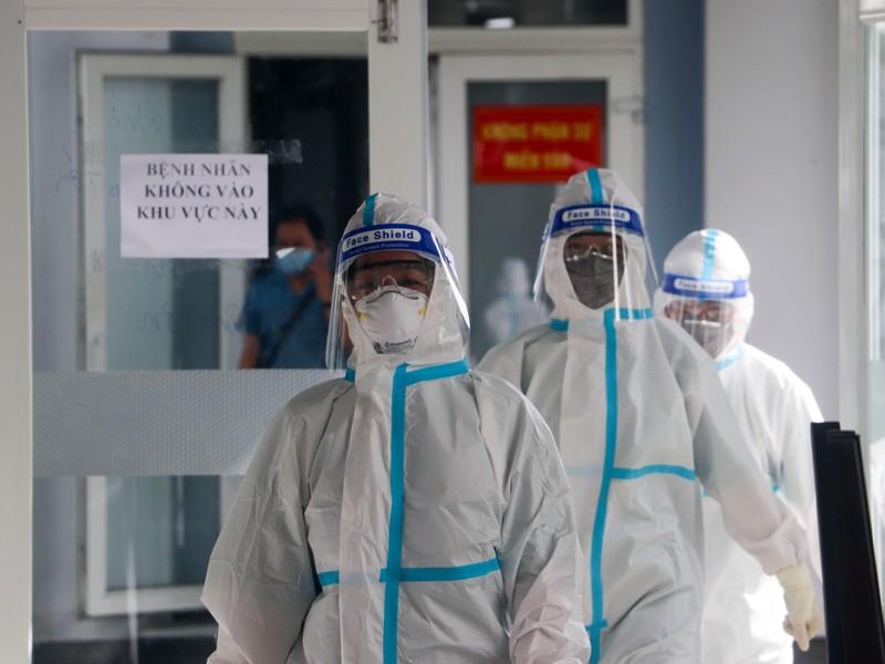 Cận cảnh bên trong Bệnh viện Dã chiến số 1 điều trị COVID-19  - ảnh 7