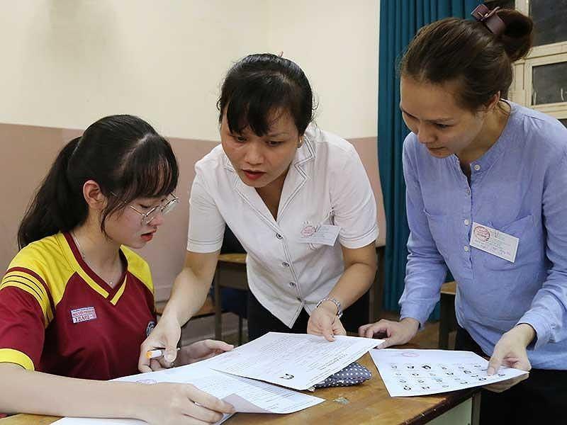 Thanh Hóa: Hơn 10.000 bài thi trắc nghiệm mắc lỗi tô đáp án - ảnh 1