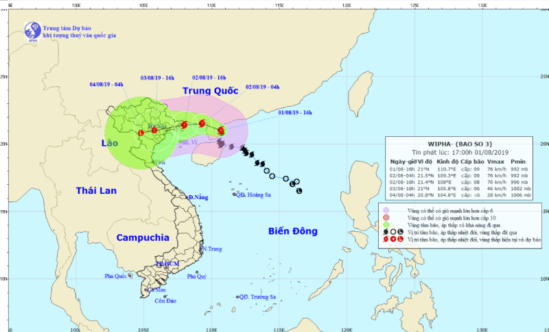 Bão số 3: Gió giật cấp 11 vào Quảng Ninh, Hải Phòng - ảnh 1