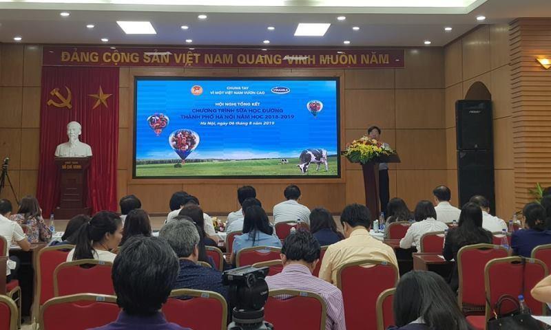 Hơn 1 triệu trẻ em Hà Nội tham gia uống sữa học đường - ảnh 1