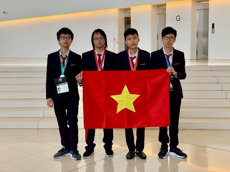 Việt Nam giành huy chương vàng tại Olympic Tin học quốc tế - ảnh 1