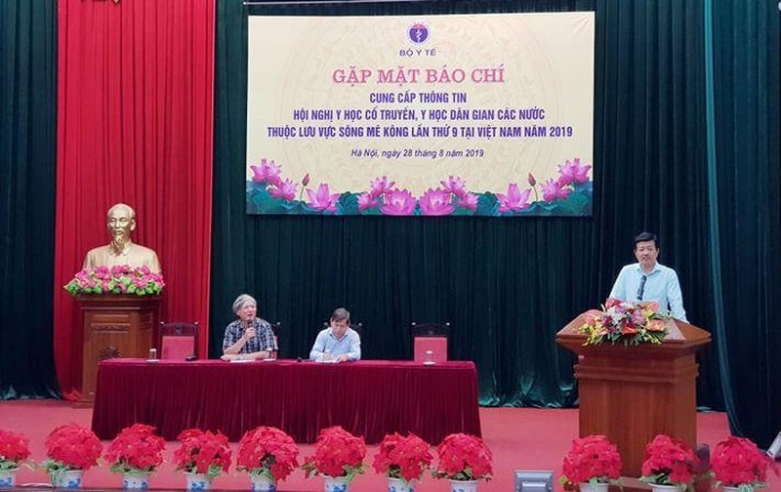 Việt Nam đăng cai hội nghị y học cổ truyền vùng sông Mekong - ảnh 1