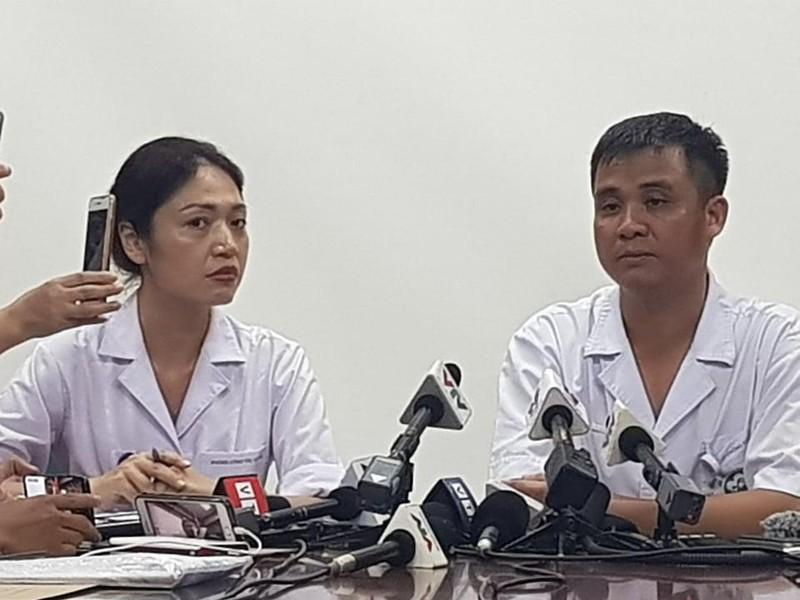 BV Bạch Mai nói về nguy cơ nhiễm độc ở vụ cháy Rạng Đông - ảnh 1
