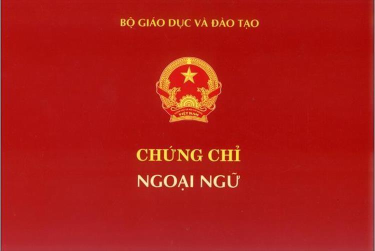Bộ GD bỏ quy định kiểm tra, cấp chứng chỉ ngoại ngữ A, B, C - ảnh 1